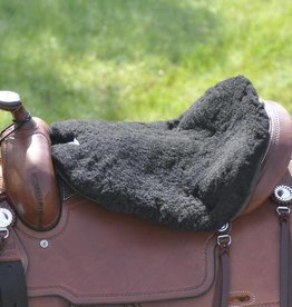 Cashel Cashel Western Luxury Tush Cushion Fleece Black