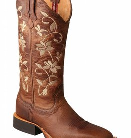 Twisted X, Inc Women's Twisted X Floral Ruff Stock Boot Square Toe