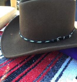 Rockmount Ranch Wear Rockmount Cowboy Dream Brown Crush Felt Hat  XL