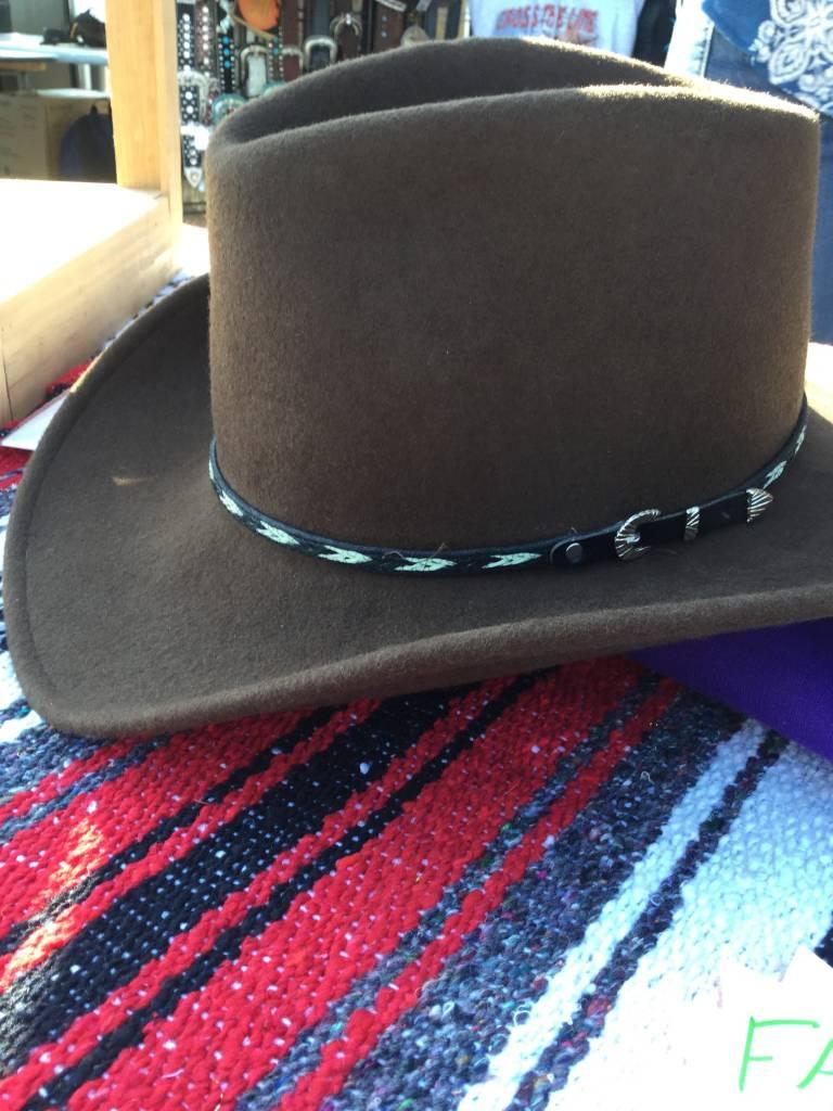 23523a51540 Rockmount cowboy dream brown crush felt hat gass jpg 768x1024 Felt cowboy  hats resistol tucker