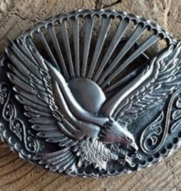 Rockmount Sunset Eagle Buckle