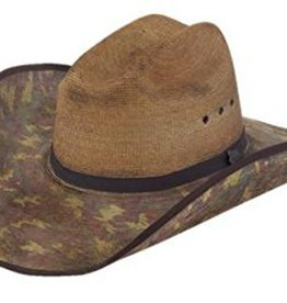 Milano Hat Co., Inc. Justin Bent Rail Trapper Straw Hat