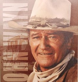 "WEX Metal Sign - John Wayne 12.5"" x 16"""