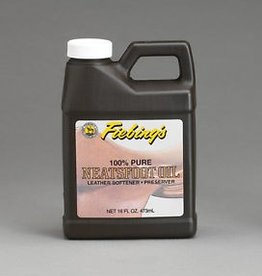 Fiebings Neatsfoot Oil 100% Pure - 16 oz
