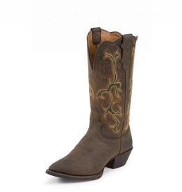Justin Western Women's Justin Sorrel Apache Stampede Boots REG 143.95 NOW $100