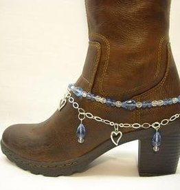 Central Texas Leather Co. Boot Candy Sapphire Blue Adult