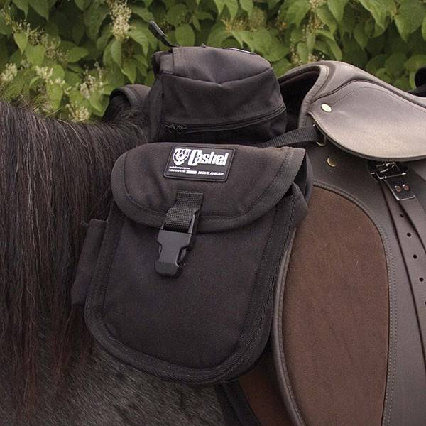 Cashel Cashel English Front Saddle Bag Black Small