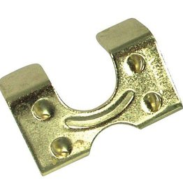 "Intrepid International 1"" Light Weight Brass Plate Rope Clamp"