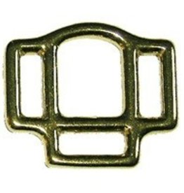 "Intrepid International 1/2"" Brass Halter Square"