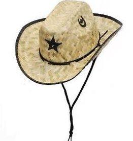 Western Express Children's Palm Straw Sherriff Hat
