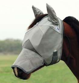 Cashel Cool Fly Mask Long w/Ears  Draft