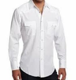 Western Express Men's Western White Shirt