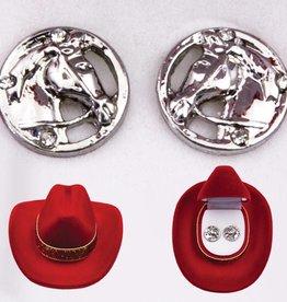 AWST International Earrings - Horse Head