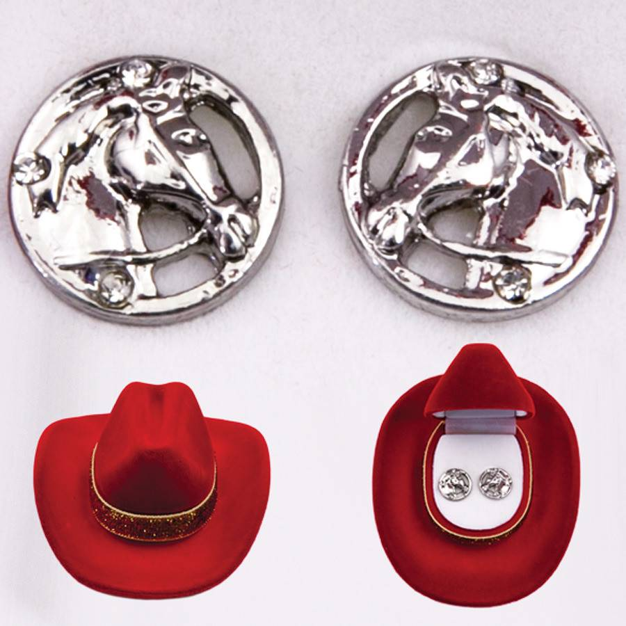 AWST International Earrings - Horse Head