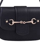 AWST International Handbag - Black Snaffle Bit