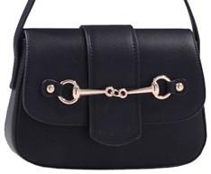 AWST Handbag - Black Snaffle Bit