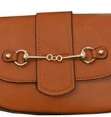 AWST International Handbag - Brown Snaffle Bit