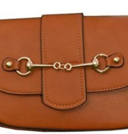 AWST Handbag - Brown Snaffle Bit