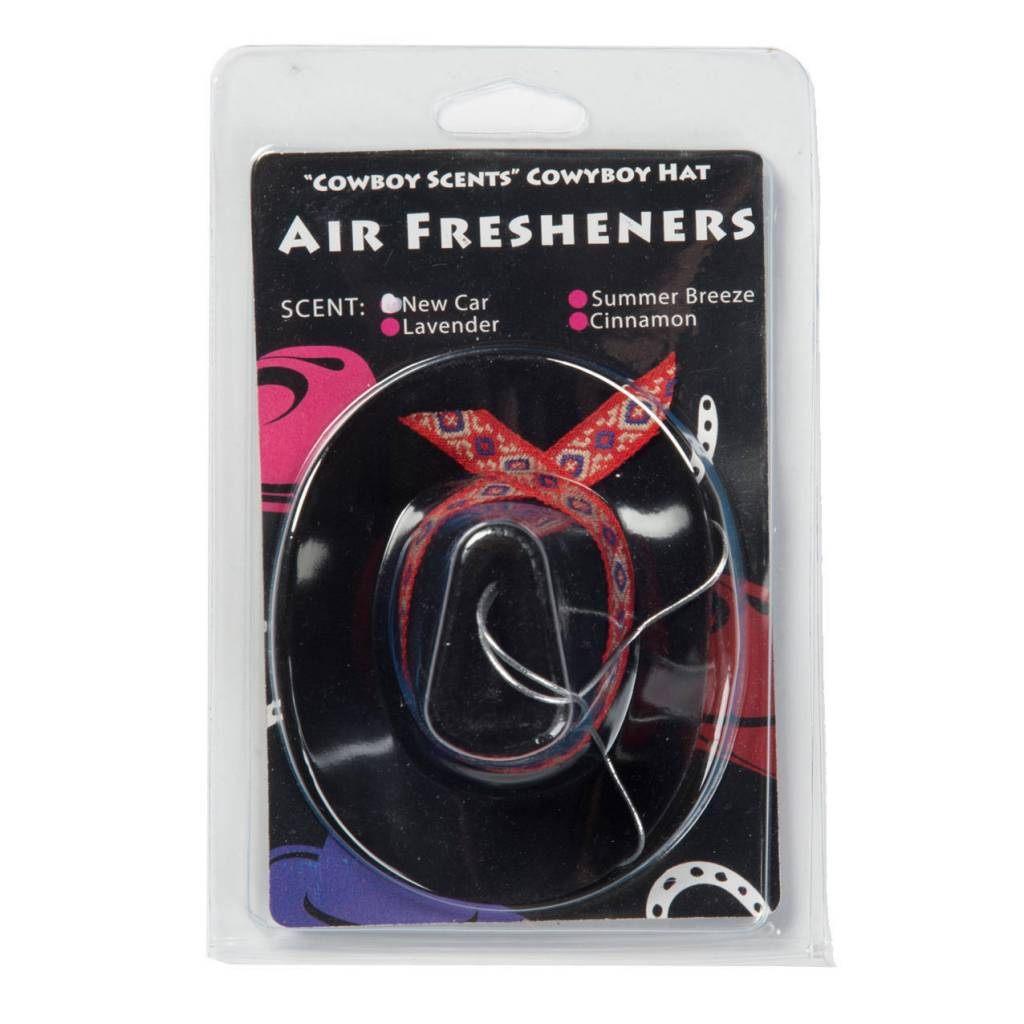 AWST International Cowboy Hat Air Fresheners