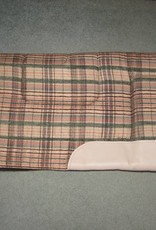 "Built Up Western Pad Plaid 30""x28"""