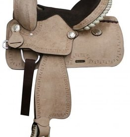 "Double T 13"" Rough Out Youth Saddle"