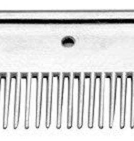 "GT Reid 4"" Long Aluminum Mane Comb Aluminum"