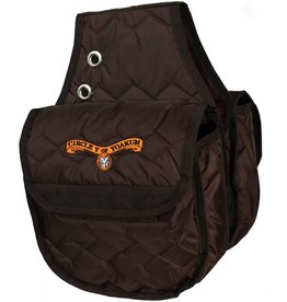 Circle Y of Yoakum Circle Y Saddle Bag-Insulated Brown Large