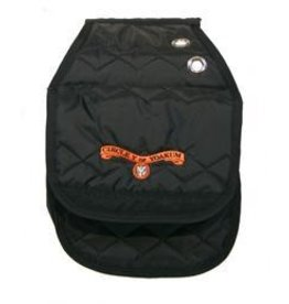 Circle Y of Yoakum Circle Y Saddle Bag-Insulated Black Large