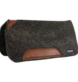 Reinsman Reinsman Rancher Pad Black Wool Felt 32x32x1