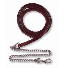 Circle Y of Yoakum Halter Lead Weanling Dark Oil 5/8