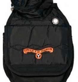 Circle Y of Yoakum Circle Y Cantle Bag Black