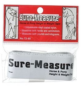 Sure-Measure or Best Friend Height Weight Tape