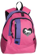 AWST International Lila Heart Back Pack Pink Purple Kids