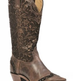 Boulet Western Boots INC. Women's Boulet Western Snip Toe Boots