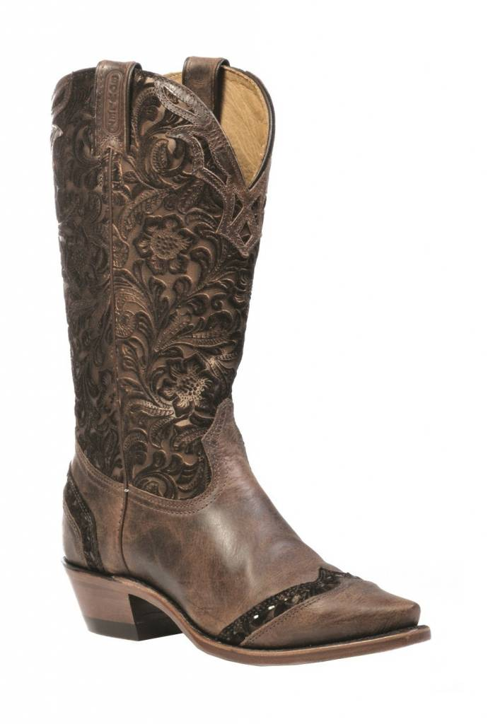Boulet Western Boots INC. Women's Boulet Western Snip Toe Boots - Proudly Canadian!