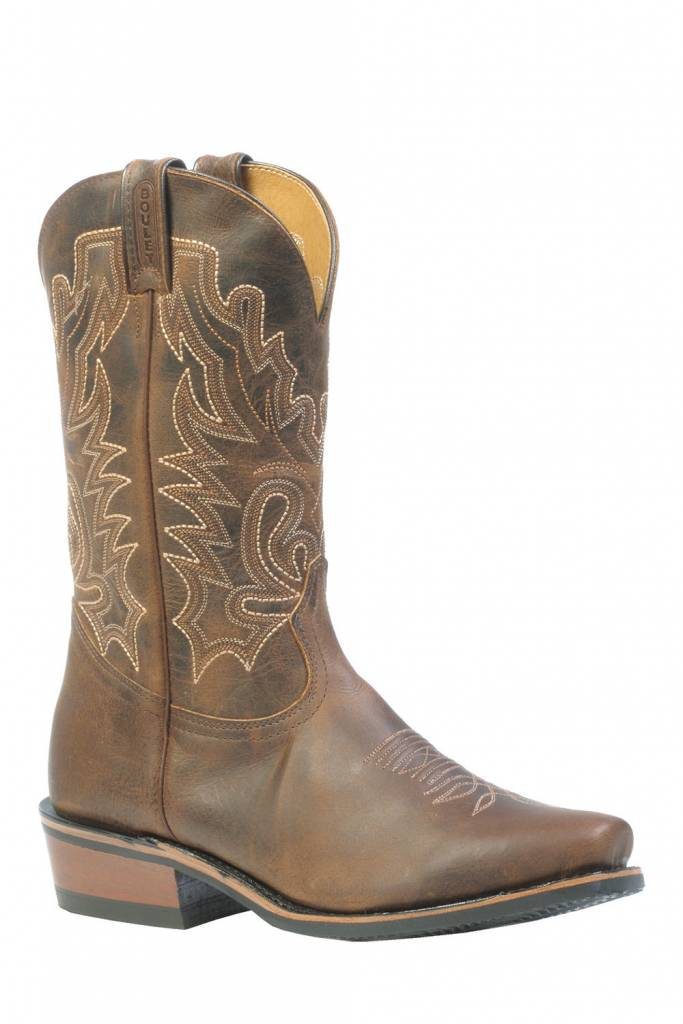 Boulet Western Boots INC. Men's Boulet Cutter Toe Western Boots - Proudly Canadian!