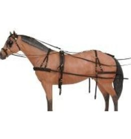 Tough1 Challenger Deluxe Nylon Harness - Horse