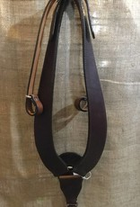 Circle L Circle L Working Breast Collar, Attaches to Saddle's Pomel, D. Oil, U.S.A. Made - Horse Size