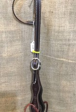 Circle L Circle L One Ear Headstall Chocolate F/S