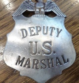 Western Fashion Accessories Badge - Deputy U.S. Marshal