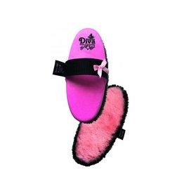 Haas Haas Diva Brush w/Lambswool - Pink