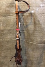 Circle L Circle L Exotic One Ear Headstall Lt. Oil Horse