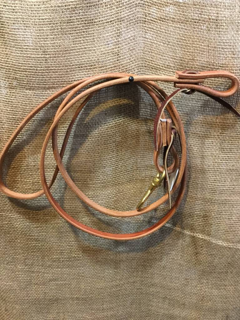Circle L Circle L Leather Roping Rein lite