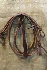 Circle L Circle L Rolled Leather Romal Reins brown