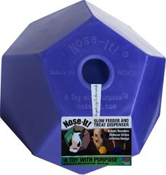Nose-It! Ball Flat Slow Feeder & Treat Dispenser