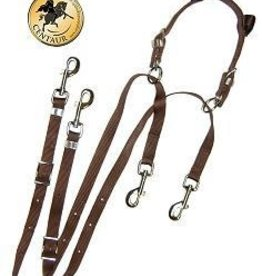English Riding Supply Anti-Grazing Device Brown Pony