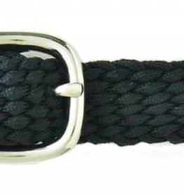 English Riding Supply Braided Nylon Spur Strap Black