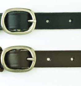 English Riding Supply Camelot Childs Spur Straps Black 18