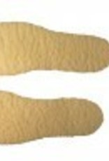 AGS Footwear Group Fleece Insole Natural OS