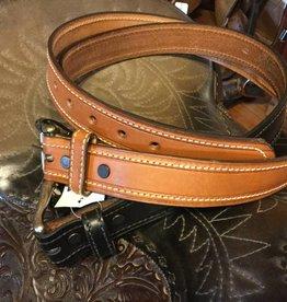Rockmount Adult - Rockmount U.S.A. Made Harness Leather Belt